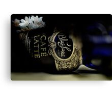 The Last Latte Canvas Print