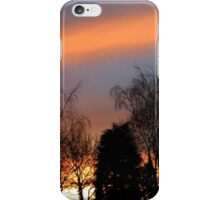 Sunset silhouettes iPhone Case/Skin