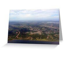a desolate Sri Lanka landscape Greeting Card