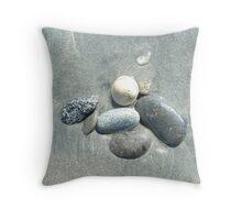 Stone variety Throw Pillow