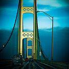 Mackinac Bridge by Kathy Nairn
