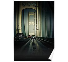 Mackinac Bridge II Poster