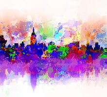 new york city skyline by BekimART