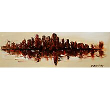 The Dark City on the Water Photographic Print