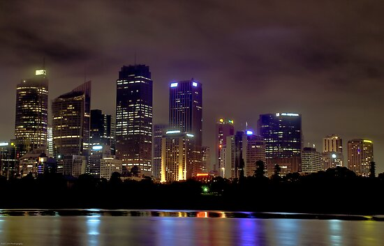 Midnight In Sydney by Paul Cons