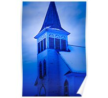 Historic Church in Sault Ste. Marie Poster