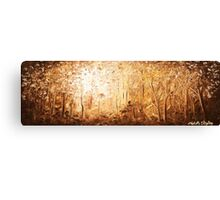 The Earthen Forest Canvas Print