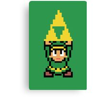 8-bit Triforce Canvas Print
