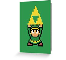 8-bit Triforce Greeting Card