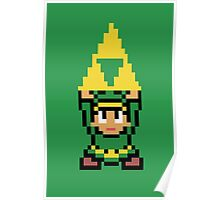 8-bit Triforce Poster