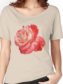 Ombré Red Rose II - Hipster/Pretty/Trendy Flowers Women's Relaxed Fit T-Shirt