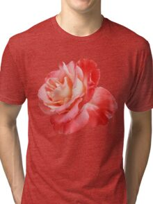 Ombré Red Rose II - Hipster/Pretty/Trendy Flowers Tri-blend T-Shirt