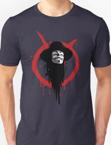 V for Vendetta Ink Unisex T-Shirt