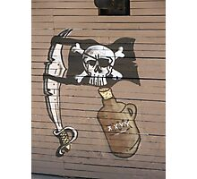 Pirate Flag Photographic Print