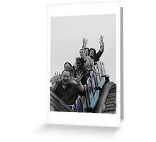 Hold Your Hands High  Greeting Card
