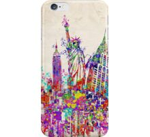 New york landmarks iPhone Case/Skin