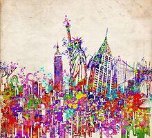 New york landmarks by BekimART