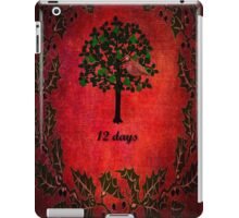 On the first day of Christmas iPad Case/Skin