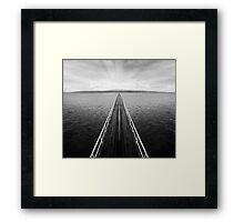 The Journey Framed Print