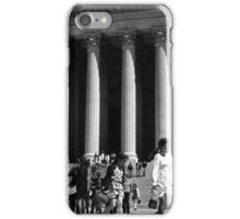 BW USA Washington Memorial Lincoln 1970s iPhone Case/Skin