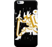 Valkyrie Leona Ink Black iPhone Case/Skin