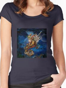 Aquatic Goddess Women's Fitted Scoop T-Shirt