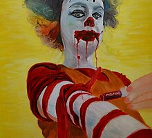 Self Medicating Ronald McDonald by elenabarry1995