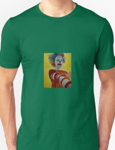 Self Medicating Ronald McDonald Unisex T-Shirt