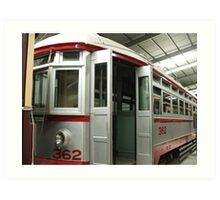 Tram 362 Art Print