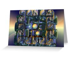 Puzzle Box Greeting Card