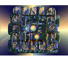 Puzzle Box Photographic Print