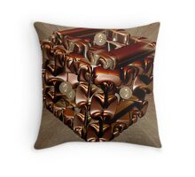 Puzzle Box 3 Throw Pillow