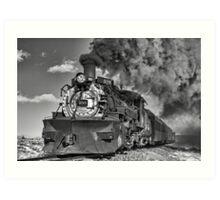 Engine 488, Cumbres & Toltec Railway, Part II Art Print