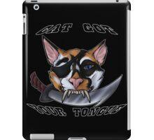Cat Gotcher Tongue iPad Case/Skin