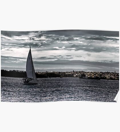 Barco de Vela Poster