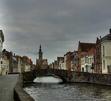 Cloudy Brugge by Béla Török