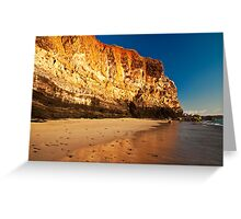 Red Cliff Greeting Card