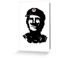 Mario Che Greeting Card