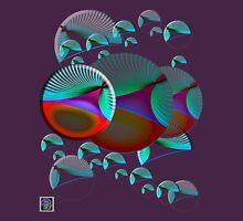 """""""Poincaré  Disc Model Hyperbolic Plane""""© Unisex T-Shirt"""