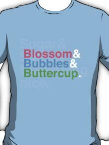 Powerpuff Helvetica T-Shirt