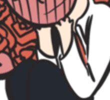 Little blushing dork Sticker
