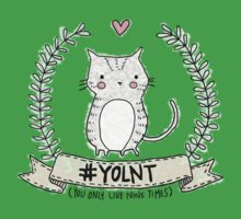 #YOLNT (You Only Live Nine Times) One Piece - Short Sleeve