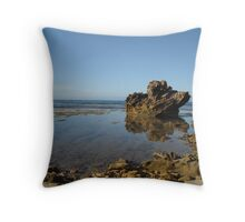 Sorrento Back Beach Sunrise Throw Pillow