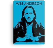Wes Anderson Metal Print