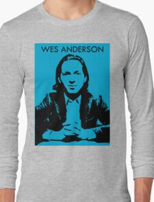 Wes Anderson Long Sleeve T-Shirt