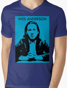Wes Anderson Mens V-Neck T-Shirt