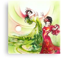 Dance of the Earth Canvas Print