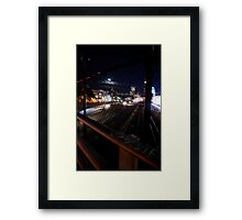 Boston Nights Framed Print