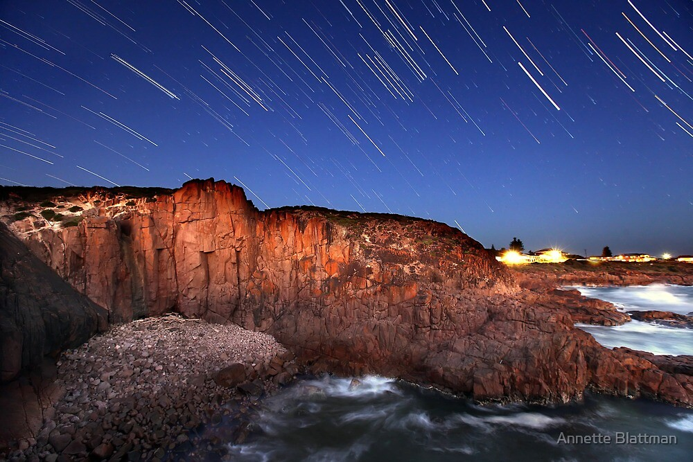 Port Stephens Startrails by Annette Blattman