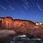 Port Stephens Startrails by Annette Blattman